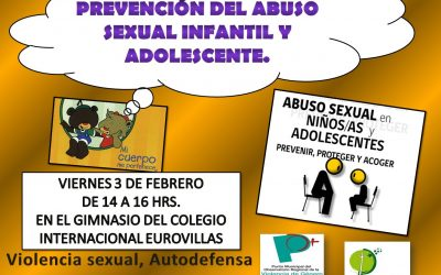 """Charla AMPA """"Prevención del Abuso Sexual Infantil y Adolescente"""""""