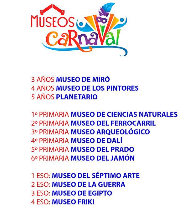 Viernes 8 Organización de Desfile y Carnaval