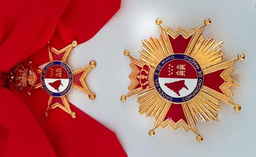 """Gran Cruz de la """"Orden del Dos de Mayo"""""""