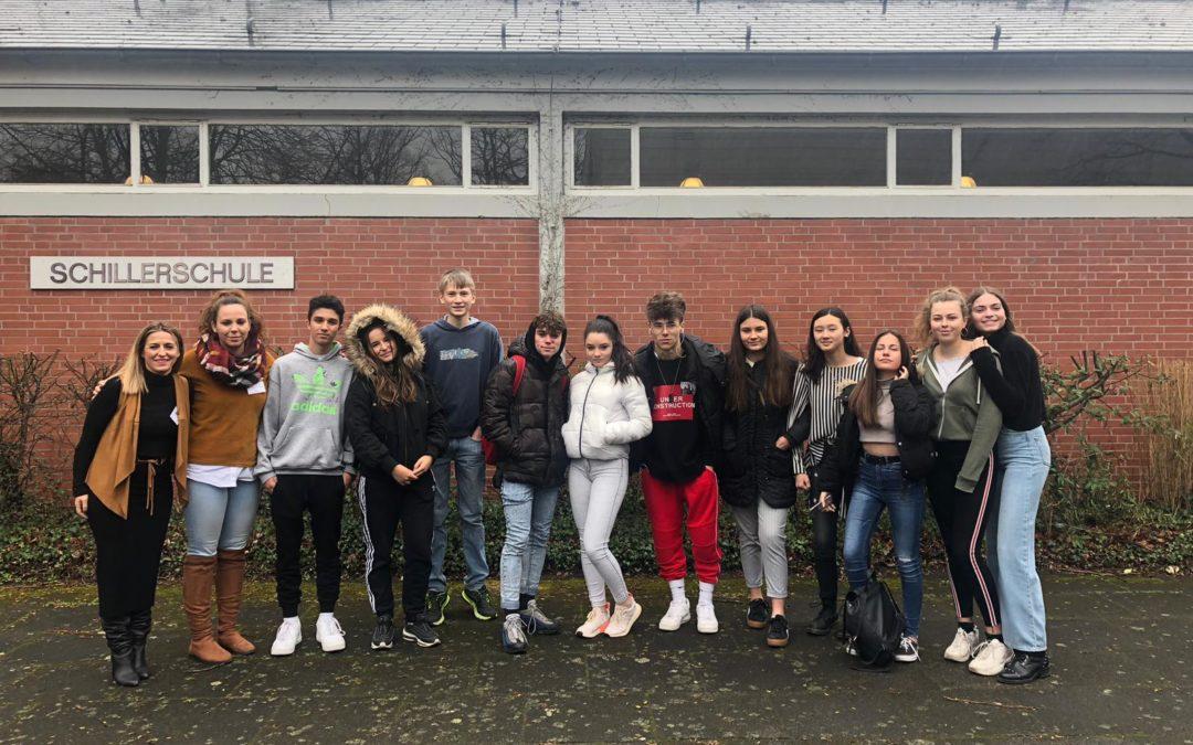 Erasmus, Visita a Hannover