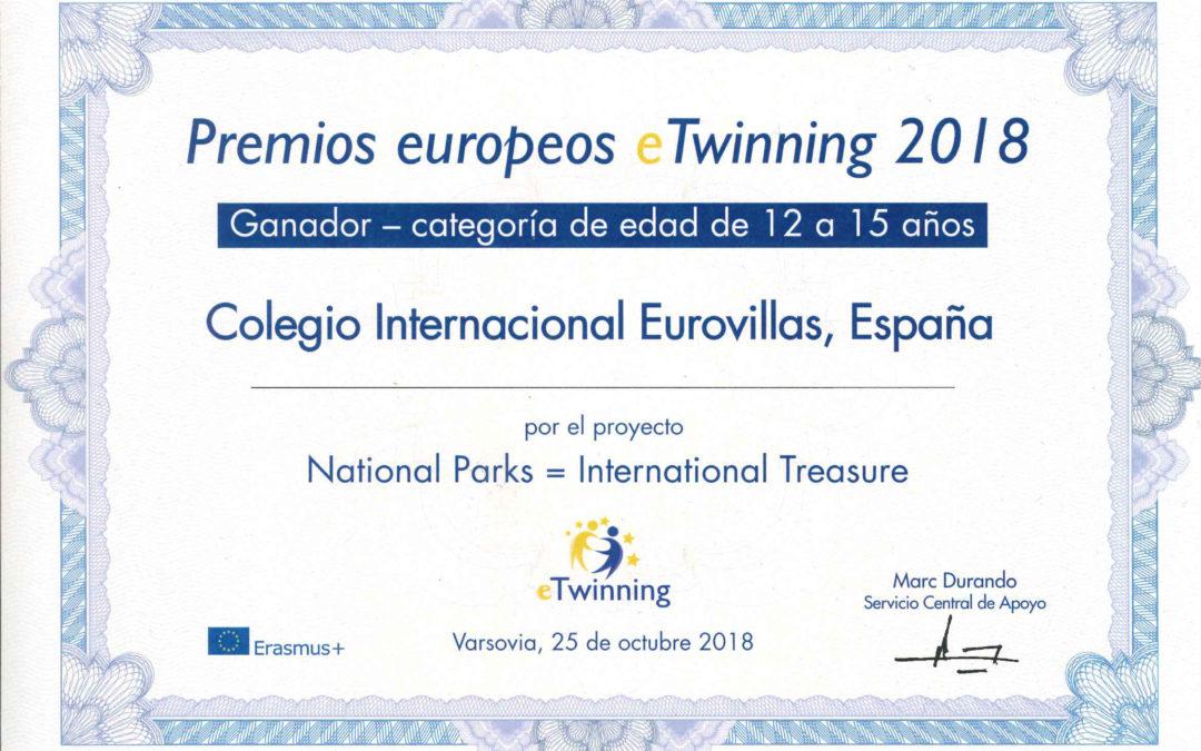 Recibimos el Premio Europeo al mejor proyecto