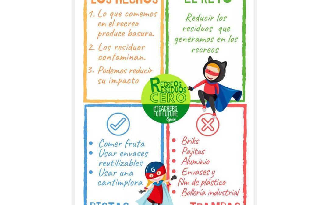 5 diciembre: Recreos Residuos Cero