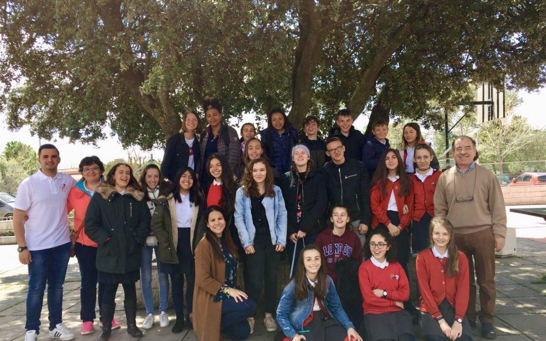 Visita de alumnos de Veauche