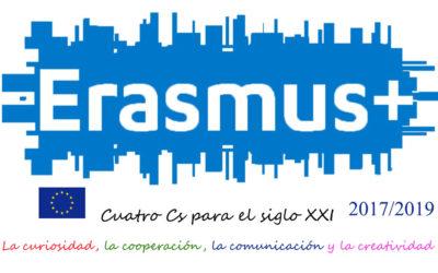 TENEMOS NUEVO PROYECTO ERASMUS +