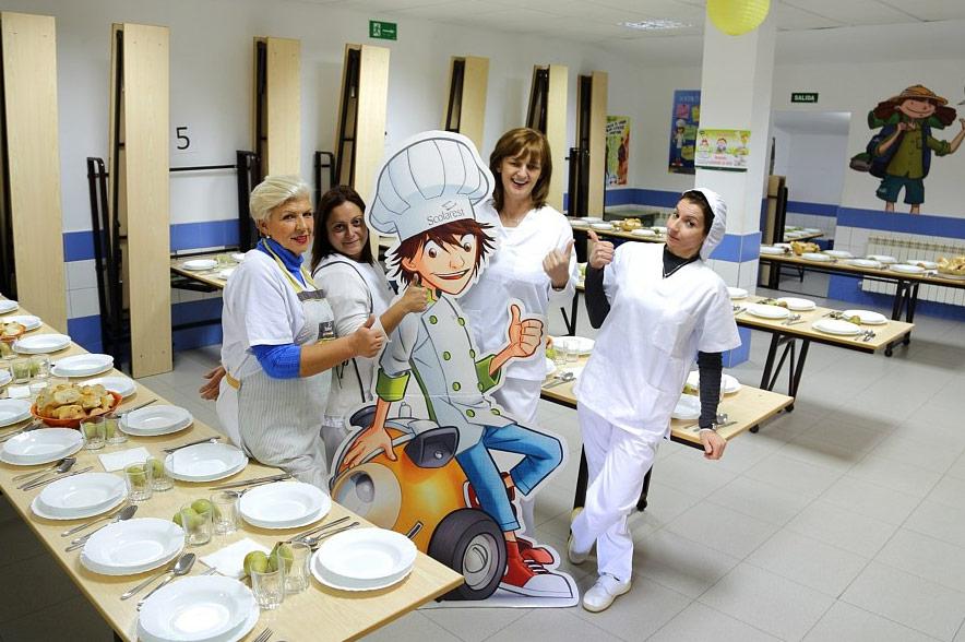 Comedor Escolar Colegio Internacional Eurovillas